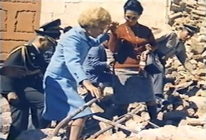 Pat Nixon conceived and led the US humanitarian relief effort in Peru after its devastating 1971 earthquake.