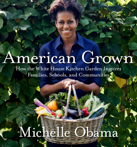 Michelle Obama's first book.
