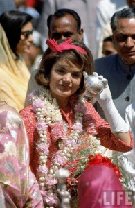 Jacqueline Kennedy in India. (life)