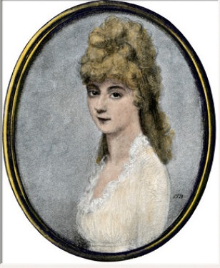 Louisa Adams. (Masachusetts Historical Society)