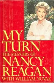 Nancy Reagan's memoirs were actually the second version she wrote, the first appearing during her husband's presidential election,