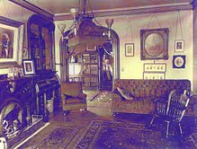 The family's private parlor of the Saxton-McKinley House. (NFLL)