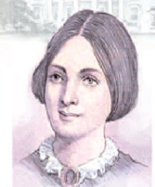 Betty Taylor Bliss assumed only the task of appearing with her father the President at public events while her mother managed the White House and hosted events in the private quarters; both women are considered the First Ladies of the Taylor Administration. (cyberstamps.com)