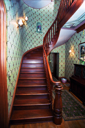 The staircase of the Saxton-McKinley. (NFLL)