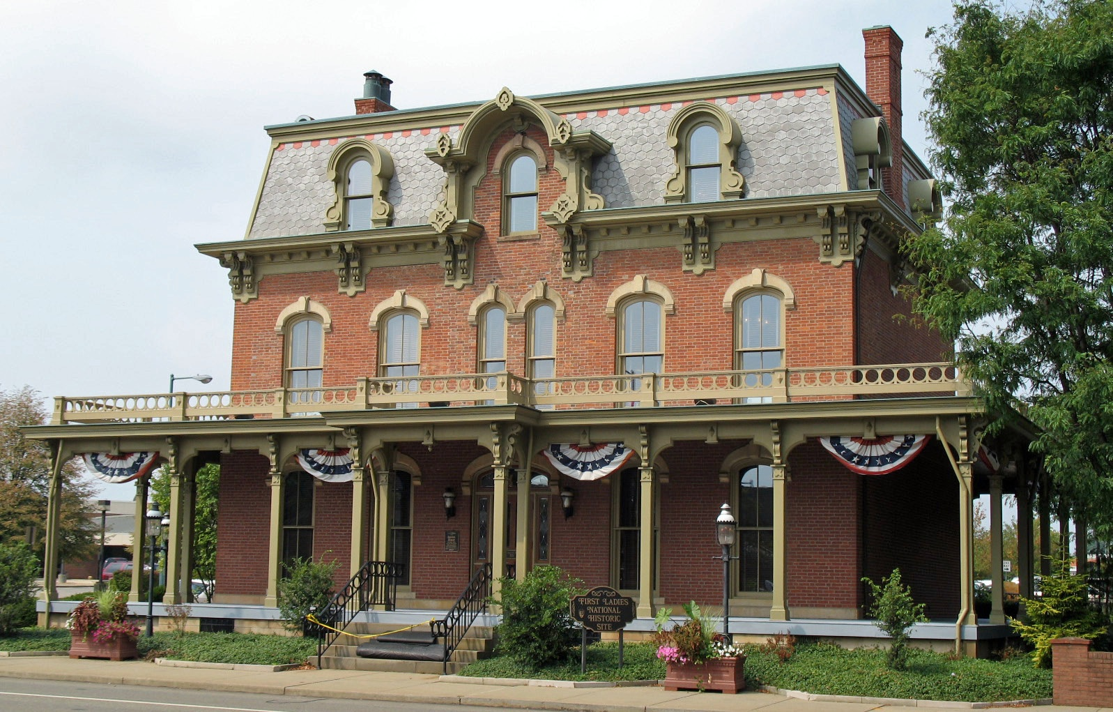 The new home of an old president for Building a home in ohio