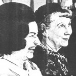 Incumbent Lady Bird Johnson with her predecessor Mamie Eisenhower in 1966. (carlanthonyonline.com)