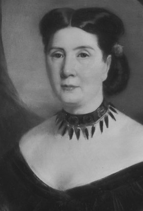 Harriet Lane Johnston in the 1870s. (Frick Reference Library)