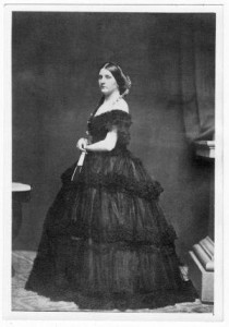 Despite her youth, Harriet Lane restricted her public demeanor with formality. (St. Alban's School)
