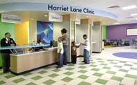 The Harriet Lane Clinic, a pediatric care division of Johns Hopkins which perpetuates the First Lady's legacy. (Johns Hopkins)