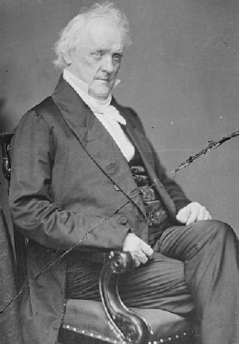James Buchanan. (National Archives)
