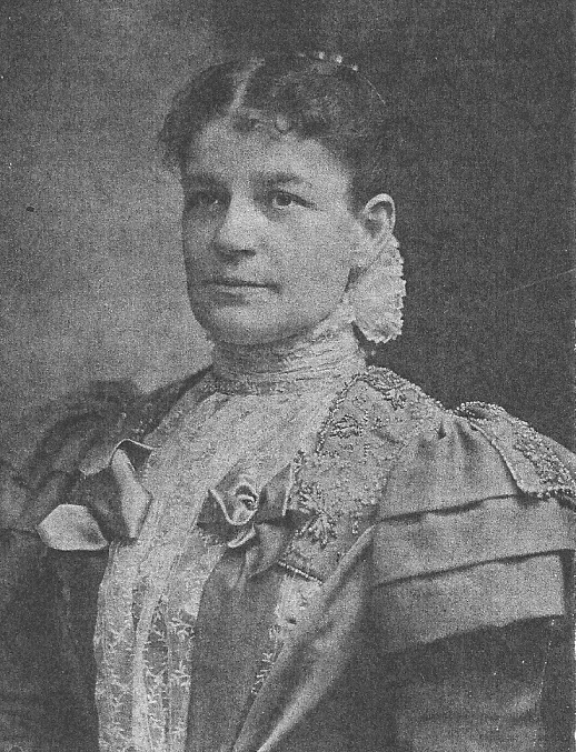Mary Barber at the time her sister was First Lady. (NFLL)