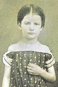 Mary Saxton at about age 5. (NFLL)