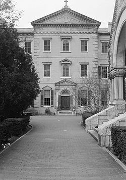 The Georgetown Visitation Academy, the school which had the greatest impact on her. (wikipedia)