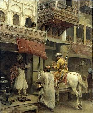 This romanticized scene of life in India, was one of the paintings of the collection Harriet Lane Johnston left to what she hoped would someday be a National Gallery of Art. (Smithsonian)