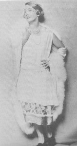 Edie Luckett, Nancy Reagan's mother, during her theatrical career (Make-Believe, Leamer)