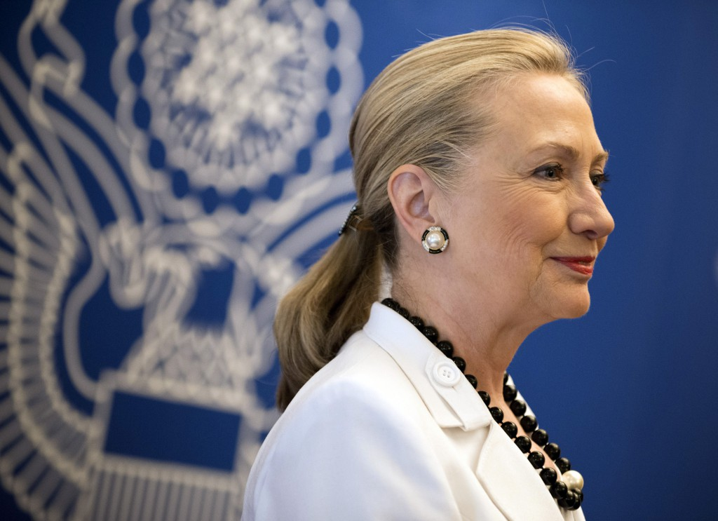 During her tenure as both a U.S. Senator and Secretary of State, former First Lady Hillary Clinton called her Embassy Row house in Washington home. (AFP)