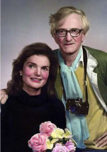 Jackie Onassis and Mark Riboud who she later signed up to do a book for her as editor, Capitol of Heaven with photos of the Chinese mountains. (pinterest
