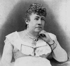 Former First Lady Julia Grant was the first to go to China. (LC)