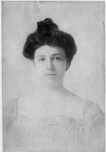 A young Nellie Taft. (LC)