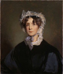 Martha Jefferson Randolph, a portrait owned by the Monticello Foundation.