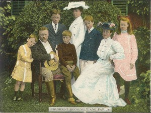 Theodore Roosevelt Family.
