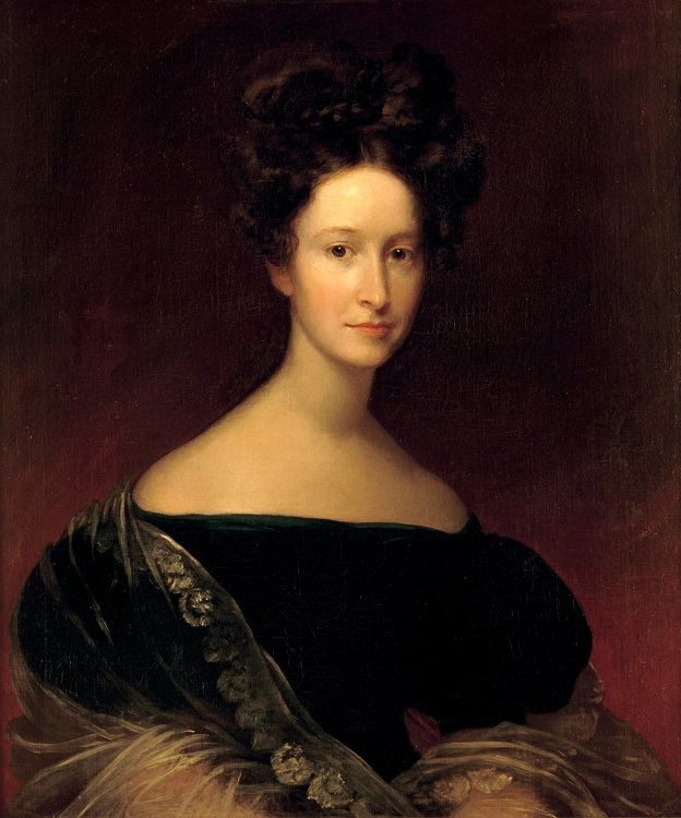 Emily Donelson, niece of the late Mrs. Andrew Jackson. (The Hermitage)