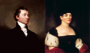James and Elizabeth Monroe, parents of Eliza Hay. (both The White House)