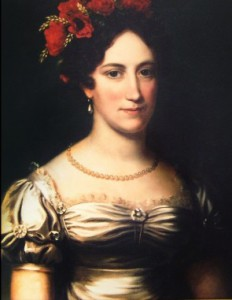 Maria Monroe, White House bride and sister of Eliza Hay. (Monroe Presidential Library)