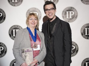 NFLL Executive Director Pat Krider at the Independent Publisher Book Awards, June 2014.