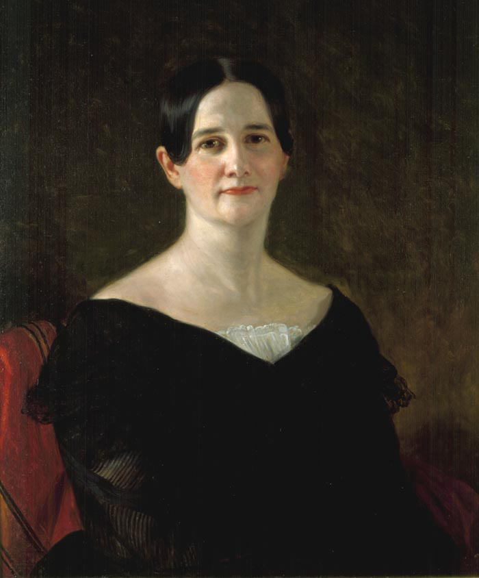 Sarah Yorke Jackson, daughter-in-law of President Andrew Jackson and, briefly, his White House hostess. (The Hermitage)