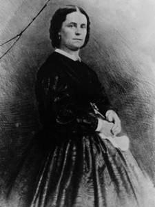 Peggy Eaton in later years. (LC)