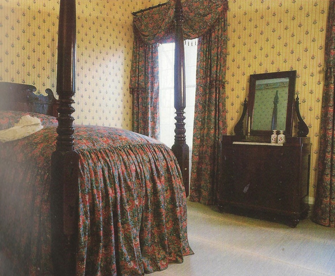 The bedroom of Sarah York Jackson, one of two First Ladies during her father-in-law's presidency.