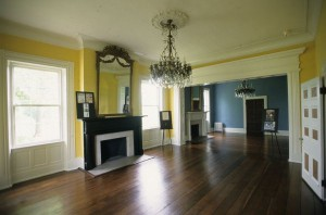 The main hall at Tulip Grove, home of A.J. and Emily Donelson. (The Hermitage)