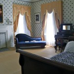 Bedroom of Angelica and Abraham Van Buren.