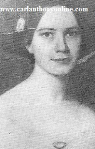 First Daughter Elizabeth Tyler, who married in the White House.