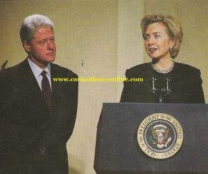 Bill Clinton has already assumed on numerous occasions the sort of role one might expect a First Gent to take.