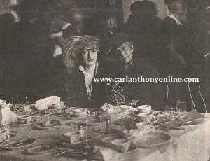 Evalyn McLean and Florence Harding at a luncheon in 1920.