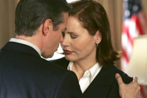 First Gent has a private moment with Madame President.