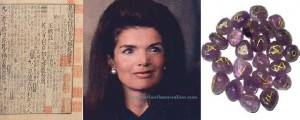 Jackie Kennedy Onassis had no use for astrologers, preferring the more exotic I Ching and rune stones.