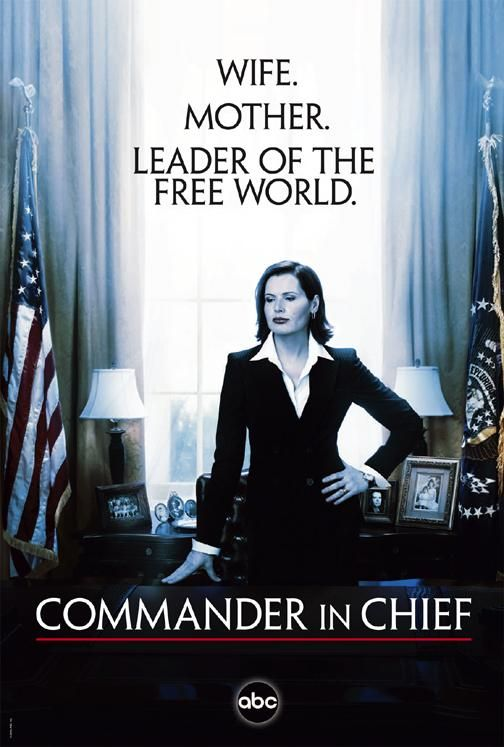 The ABC-TV series Commander in Chief was only the second mainstream media fictional depiction of a woman US President, ran from the fall of 2005 to the spring of 2006.