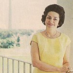 The woman known as Lady Bird Johnson always signed herself in business as Claudia Taylor Johnson. (Life)