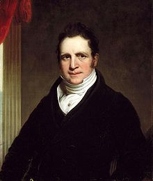 Thomas Abthorpe Cooper, painted by Chester Harding in 1822. (Wikipedia)
