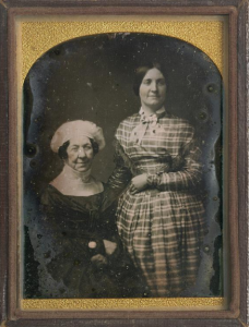 Elderly Dolley Madison and niece Anna Payne who lived with her in Washington. (NPG)