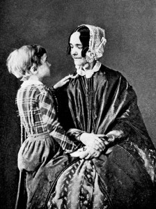 Benny Pierce and his mother. (NH Historical Society)