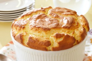 Pat Nixon's Corn Souffle, the recipe for which she released to the public at Thanksgiving.