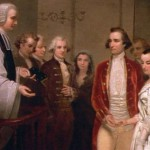 The Washington's Twelfth Night wedding ceremony.
