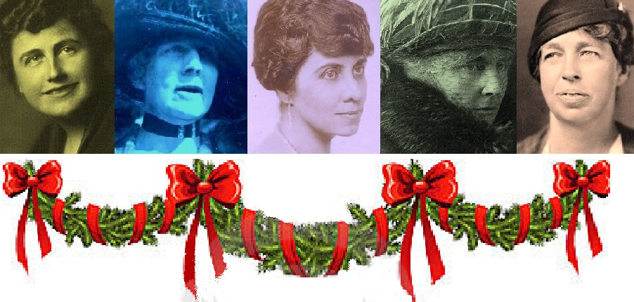 Five Progressive Era First Ladies Edith Wilson Florence Harding Grace Coolidge Lou Hoover and Eleanor Roosevelt felt a duty to use their status to share aspects of the holiday with the public.