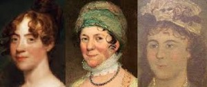 Sisters: Anna Cutts, Dolley Madison and Lucy Washington.