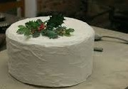 "Martha Washington's ""Great White Cake,"" is a frosted fruitcake that was popular in the Old South."