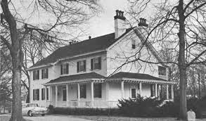 The Kentucky home of the Taylor family, where Zachary and Peggy Taylor often lived, a residence shared with many other relatives.